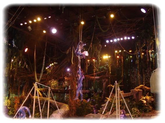 Spectacle: Tarzan, la rencontre. (représentation annulée pour 2013) Dscf2919