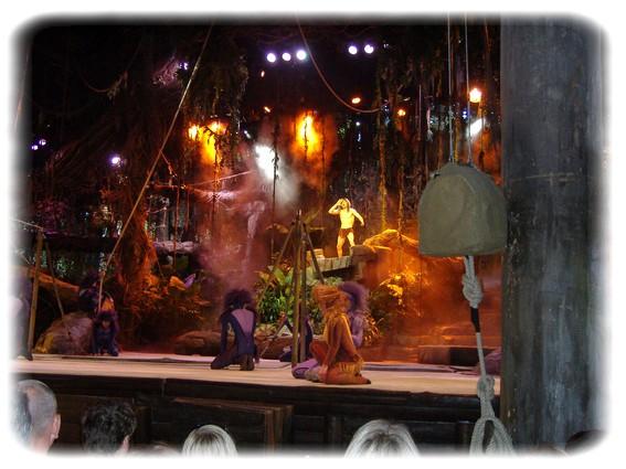 Spectacle: Tarzan, la rencontre. (représentation annulée pour 2013) Dscf2922