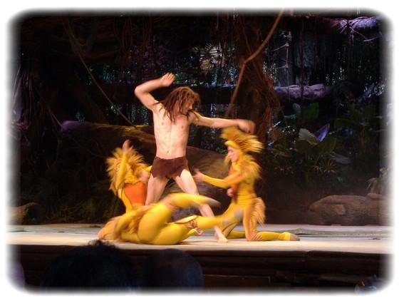 Spectacle: Tarzan, la rencontre. (représentation annulée pour 2013) Dscf2925