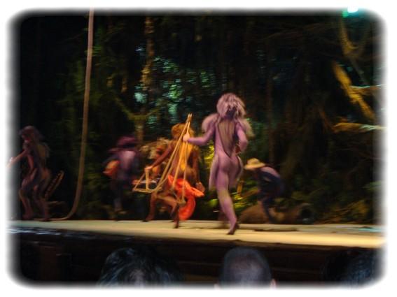 Spectacle: Tarzan, la rencontre. (représentation annulée pour 2013) Dscf2927