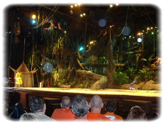 Spectacle: Tarzan, la rencontre. (représentation annulée pour 2013) Dscf2930