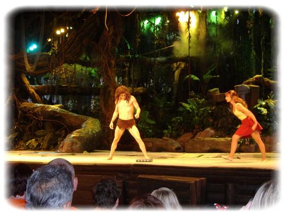 Spectacle: Tarzan, la rencontre. (représentation annulée pour 2013) Dscf2934
