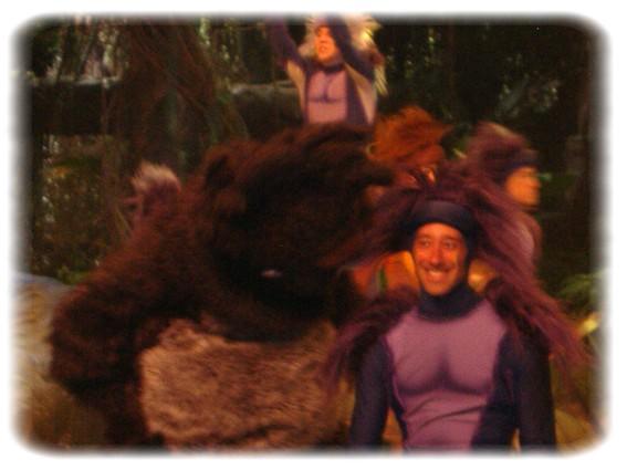 Spectacle: Tarzan, la rencontre. (représentation annulée pour 2013) Dscf2938