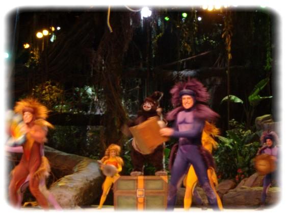 Spectacle: Tarzan, la rencontre. (représentation annulée pour 2013) Dscf2941