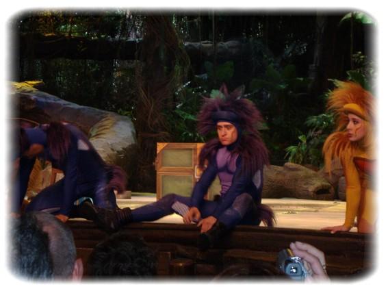 Spectacle: Tarzan, la rencontre. (représentation annulée pour 2013) Dscf2943