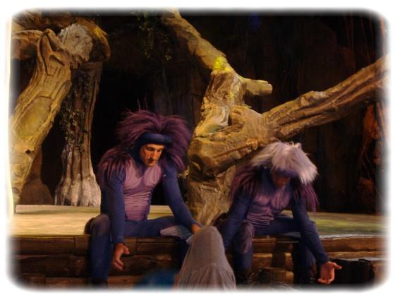 Spectacle: Tarzan, la rencontre. (représentation annulée pour 2013) Dscf2947