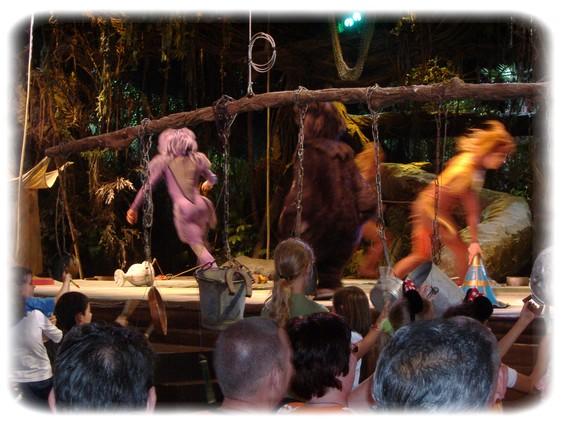 Spectacle: Tarzan, la rencontre. (représentation annulée pour 2013) Dscf2949