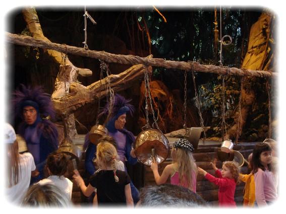 Spectacle: Tarzan, la rencontre. (représentation annulée pour 2013) Dscf2950
