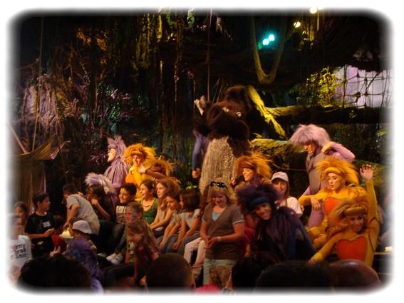 Spectacle: Tarzan, la rencontre. (représentation annulée pour 2013) Dscf2951
