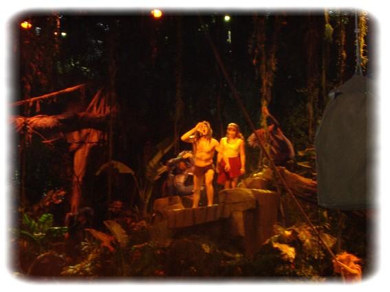 Spectacle: Tarzan, la rencontre. (représentation annulée pour 2013) Dscf2954