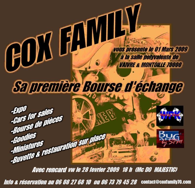1er Bourse d'echange du COX FAMILY Bourse13