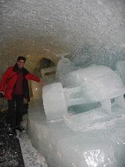 [Tignes]Grotte de glace sur Grande Motte 48110