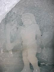 [Tignes]Grotte de glace sur Grande Motte 48410