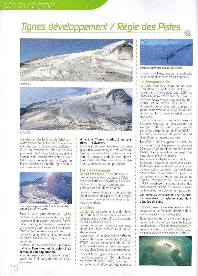 [Tignes]L'avenir du glacier de Grande-Motte Ttl110