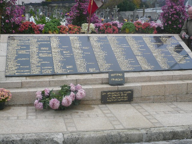 Arrivée de la flamme du souvenir à Quimper et transmission à Fouesnant 15_tou10