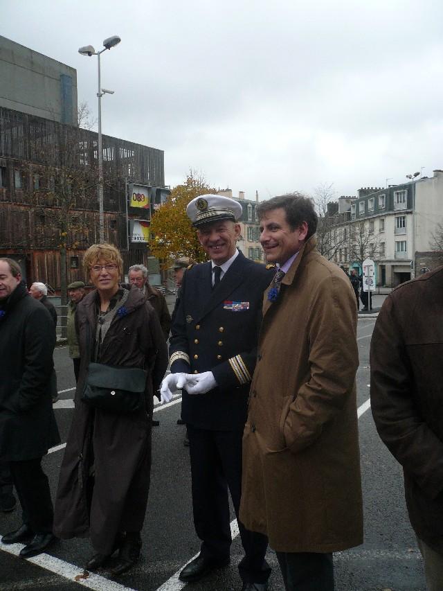 Arrivée de la flamme du souvenir à Quimper et transmission à Fouesnant 6_et_m10