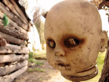 L'île des poupées au Mexique Dolls110