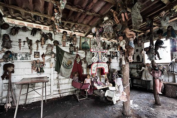 L'île des poupées au Mexique Img_4511