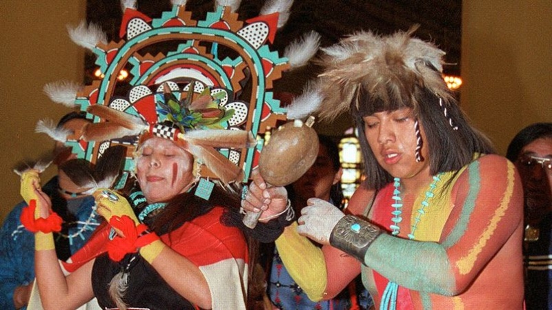 Vente des masques sacrés Hopi Masque12