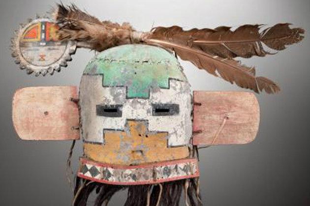 Vente des masques sacrés Hopi Masque13