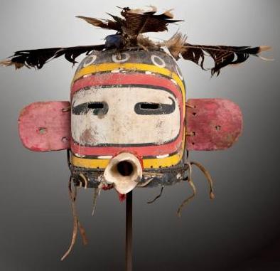 Vente des masques sacrés Hopi Masque14