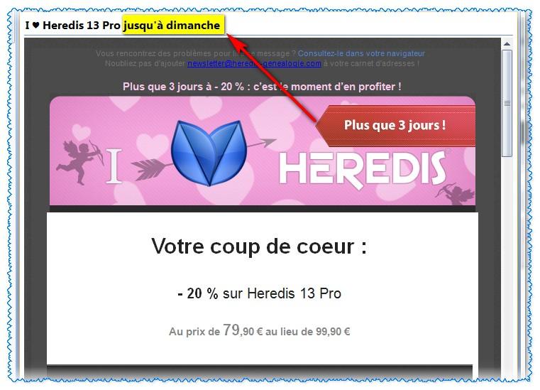 Promotion de la Saint-Valentin, Heredis et vous, une histoire d'amour ou d'argent ? 119