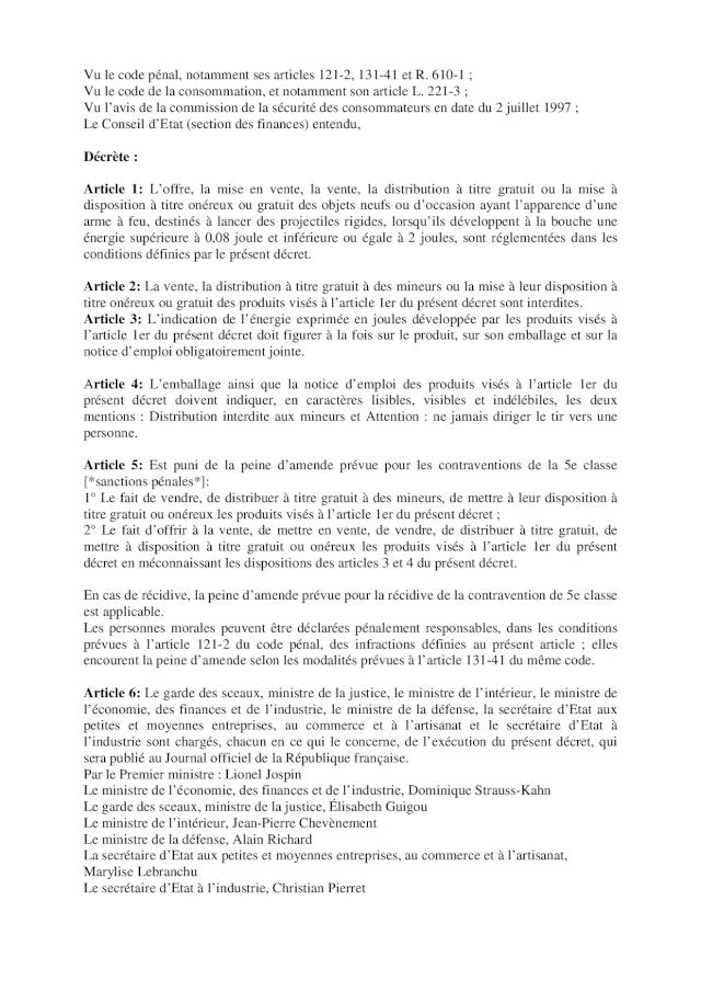 Dossier thématique de l'airsoft 2013 (Préfecture du Gard) Page510