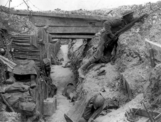 Bataille de la Somme: Septembre 1916 :saynète terminée 1280px10