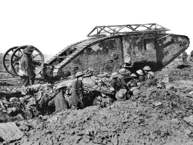 Bataille de la Somme: Septembre 1916 :saynète terminée Britis10