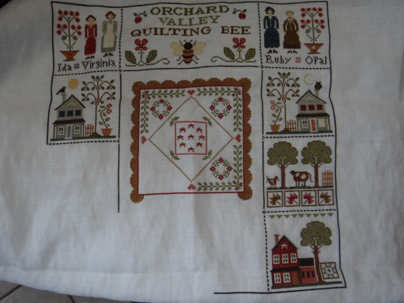 Orchard Valley Quilting Bee de LHN suite le 30 Octobre - Page 39 Dsc02614