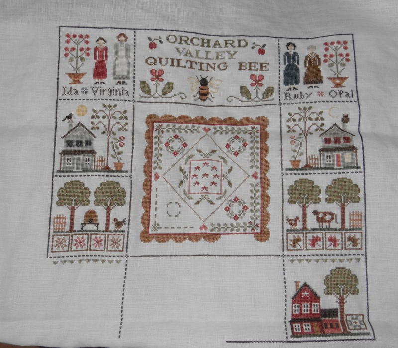 Orchard Valley Quilting Bee de LHN suite le 30 Octobre - Page 41 Dsc02949