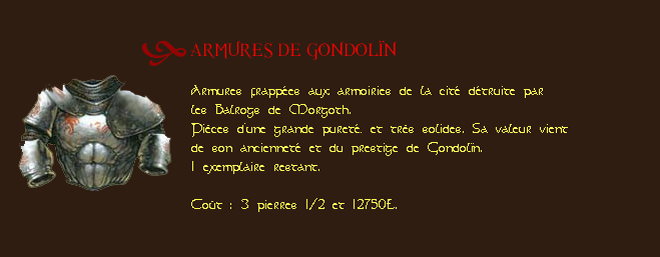Les Caves D'or Armure10