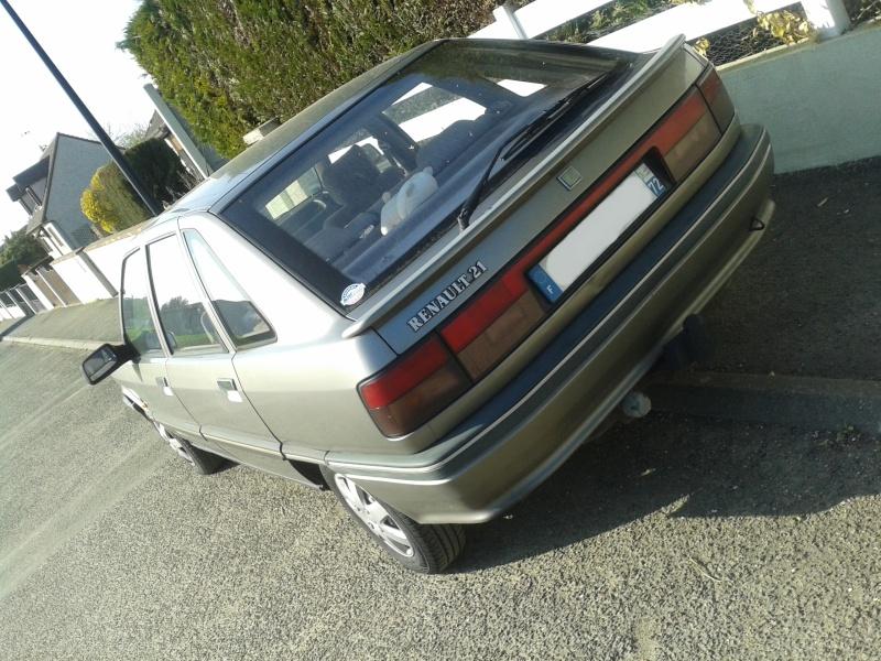 [LAGUNA GT] Renault R21 GTD 1991 + Bandit 650N GSF 20130421