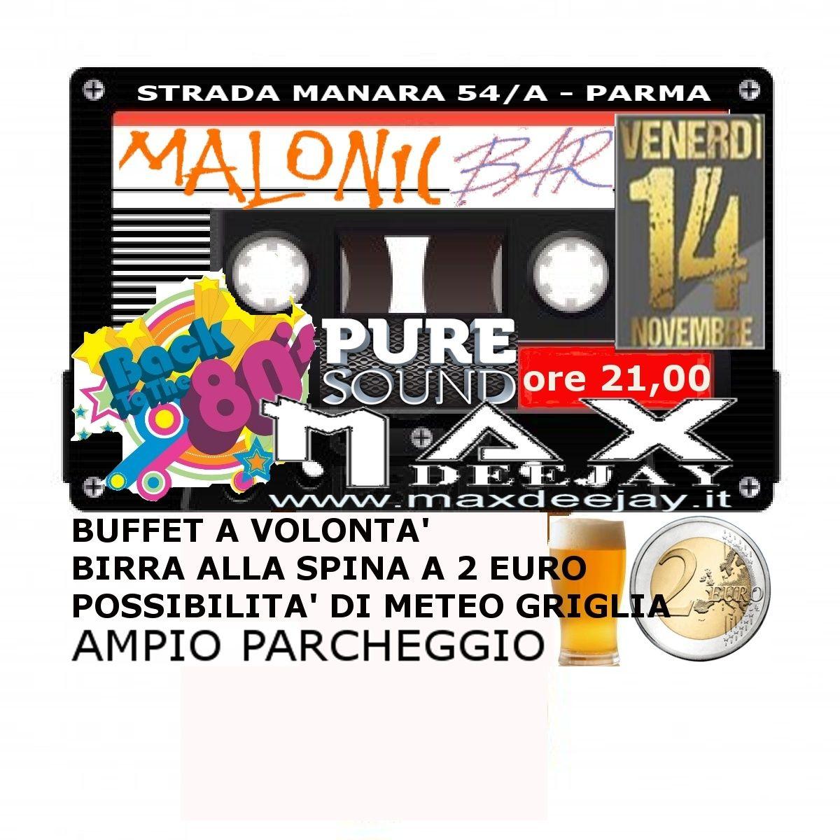 MAX TESTA @ MALONIC BAR > 14-11-14 PARMA Maloni10