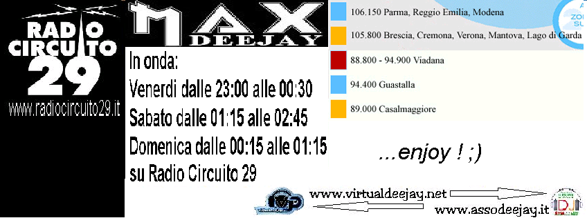 Week-end su Radio Circuito 29 Rc29-i10