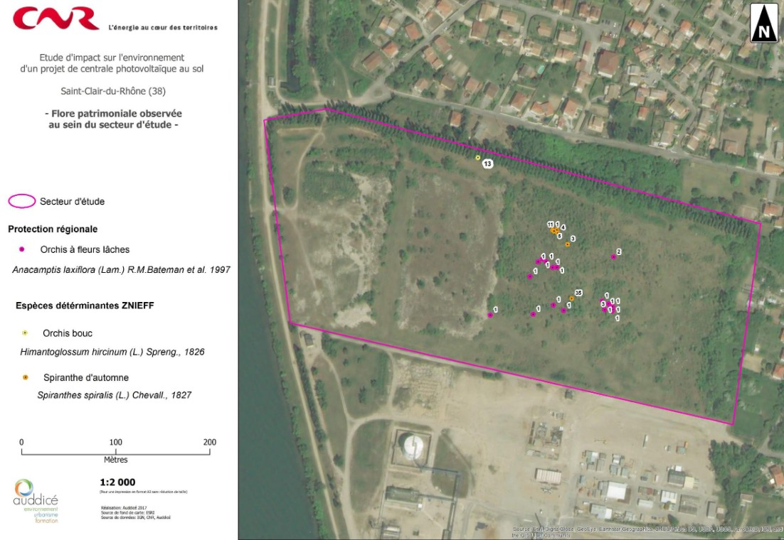 Etude d'impact Saint Clair du Rhône Rcu0110