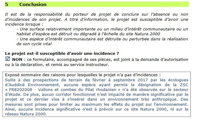 Etude d'impact Saint Clair du Rhône Rcu0410