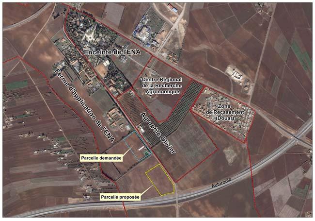 L'Ecole Nationale d'Agriculture de Meknès Plan_e10