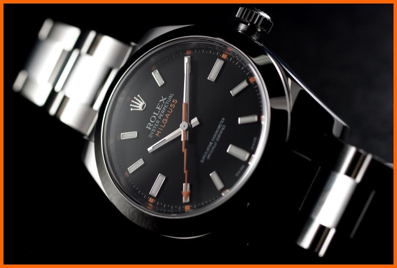 "Milgauss - ""Every Rolex tells a story"": Milgauss 116400 inside A1-bor10"