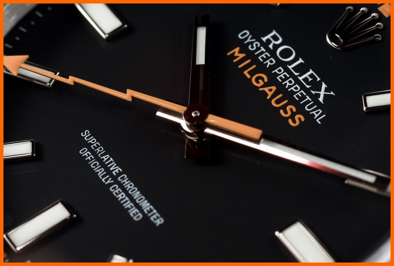 "Milgauss - ""Every Rolex tells a story"": Milgauss 116400 inside A4-bor10"