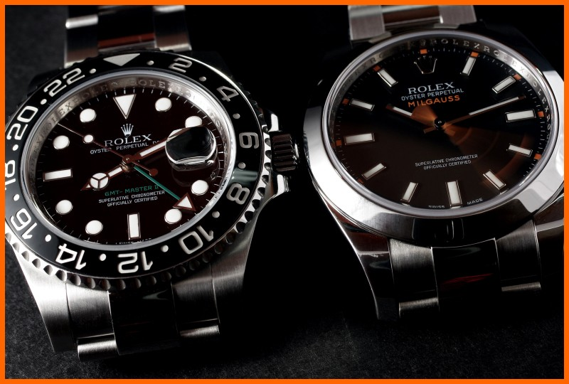 "Milgauss - ""Every Rolex tells a story"": Milgauss 116400 inside A8-bor10"
