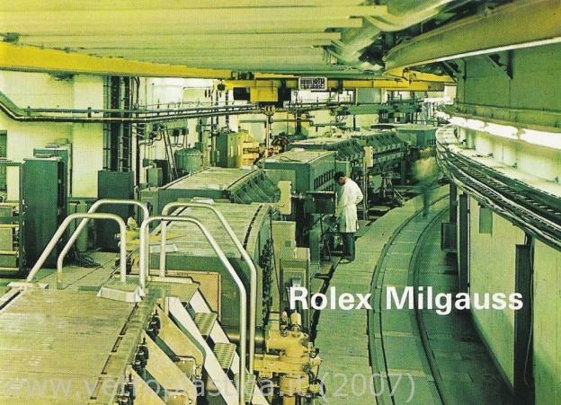 "Milgauss - ""Every Rolex tells a story"": Milgauss 116400 inside Rolex-11"