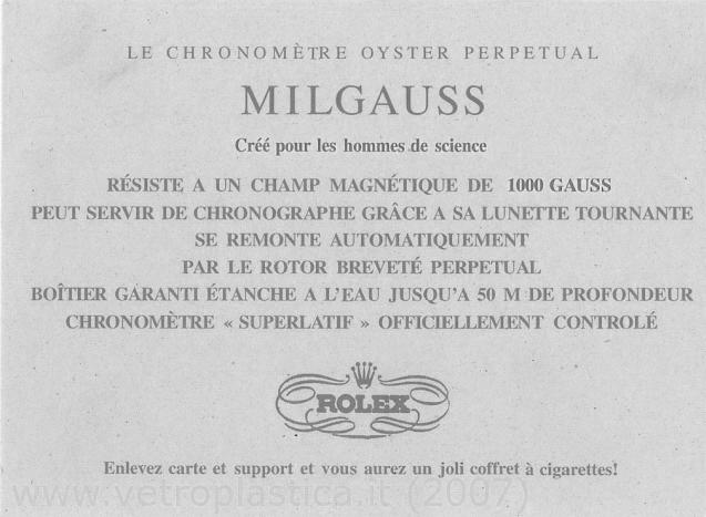 "Milgauss - ""Every Rolex tells a story"": Milgauss 116400 inside Rolex-13"