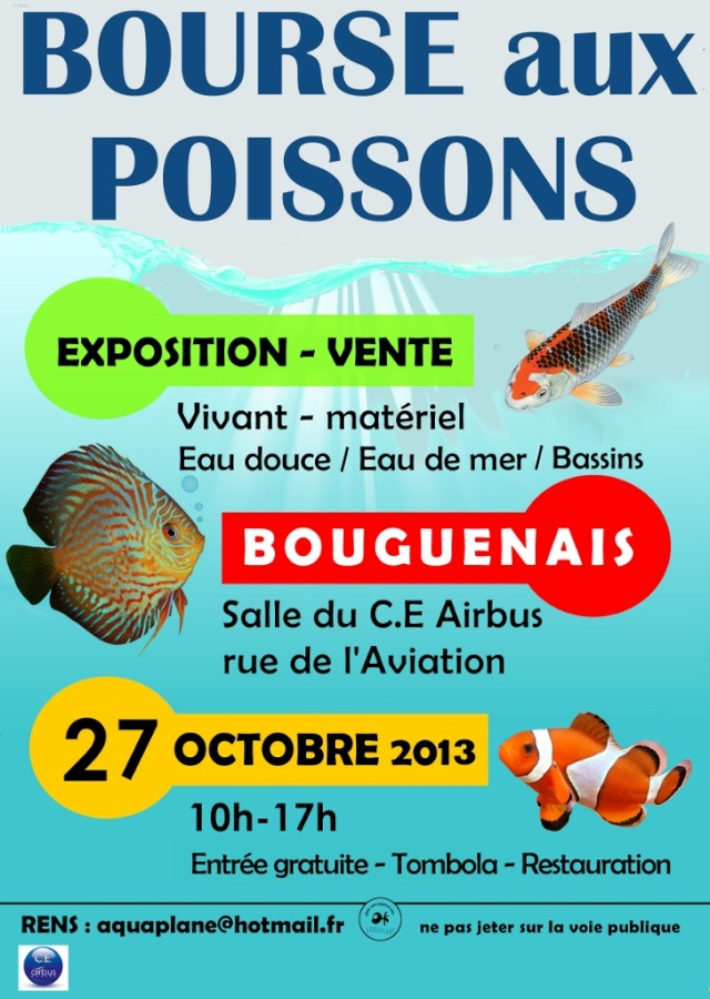 Bourse aquariophile Nantaise le 27 octobre 2013, photos 2013af10