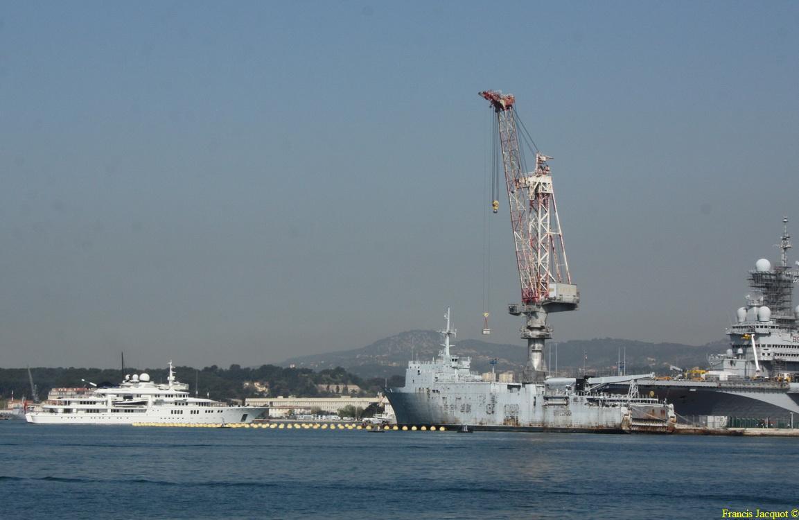 [LES PORTS MILITAIRES DE MÉTROPOLE] Mouvements de Bâtiments dans la rade de Toulon - Page 4 0919