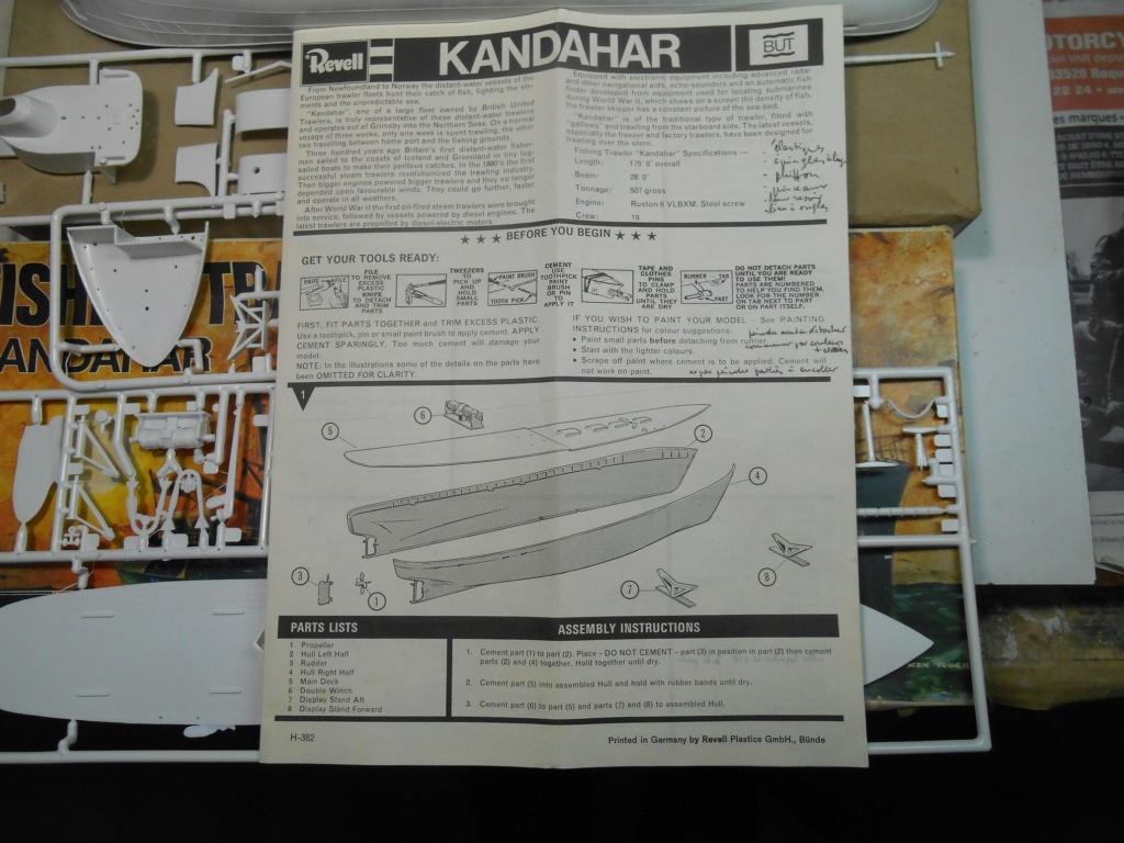 Pour m'amuser... Chalutier Kandahar - Revell - Echelle1/142 40-cha14