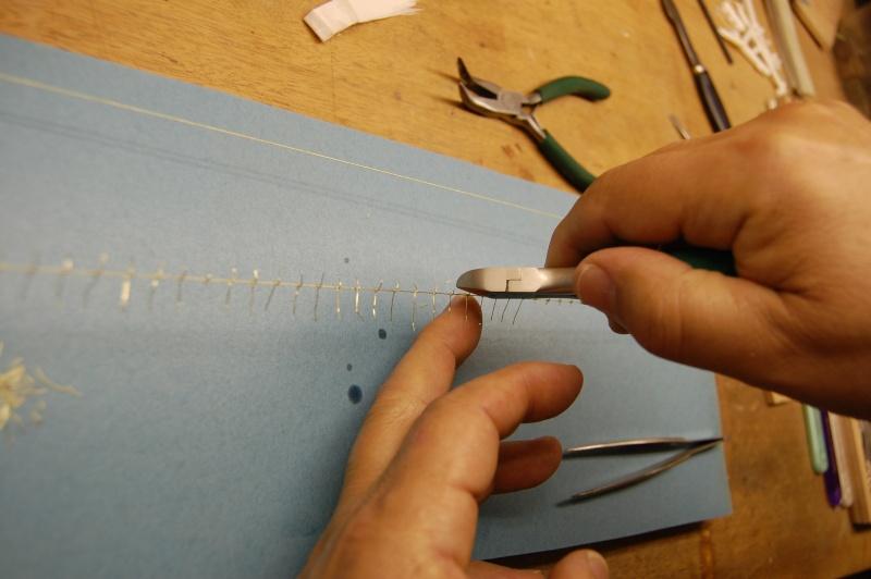 Ma méthode de fabrication du barbelé. Fabric24