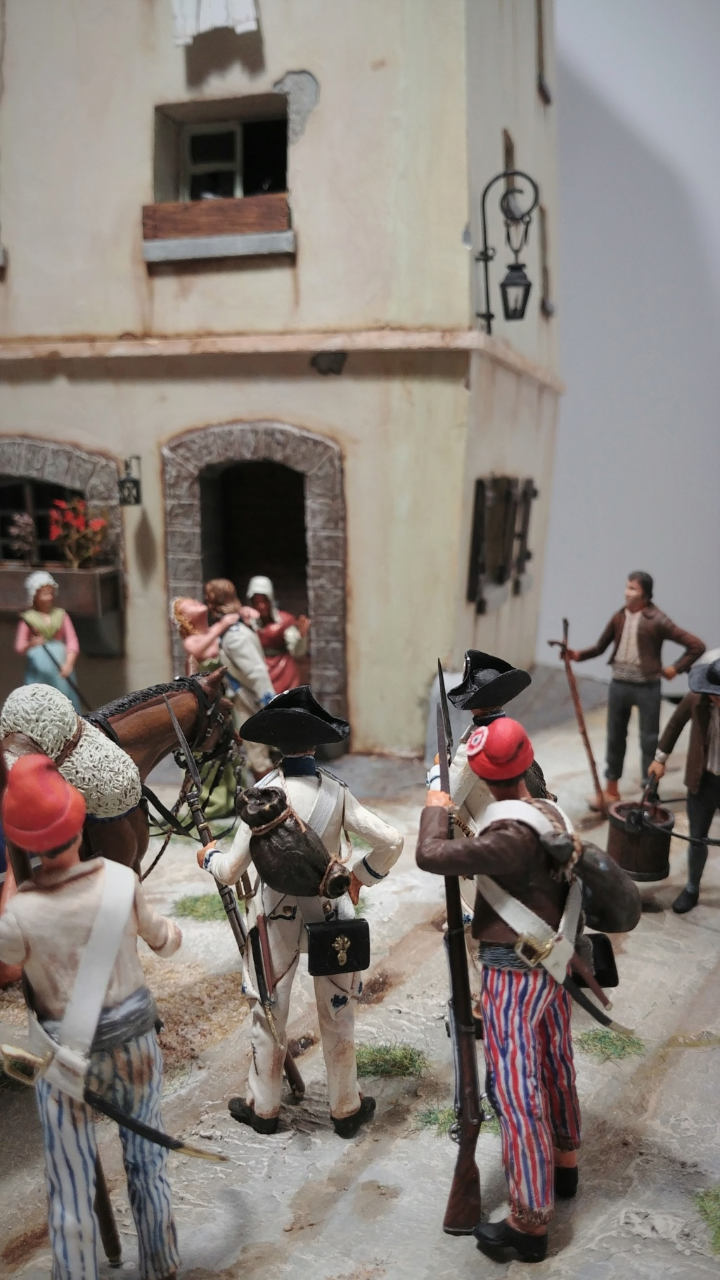 """""""Adieu, mon amour, reviens vite!"""" - Figurines HISTOREX, NEMROD, CE CHER PASSE- 1/32e et 1/35e- Déco  Les_ad11"""