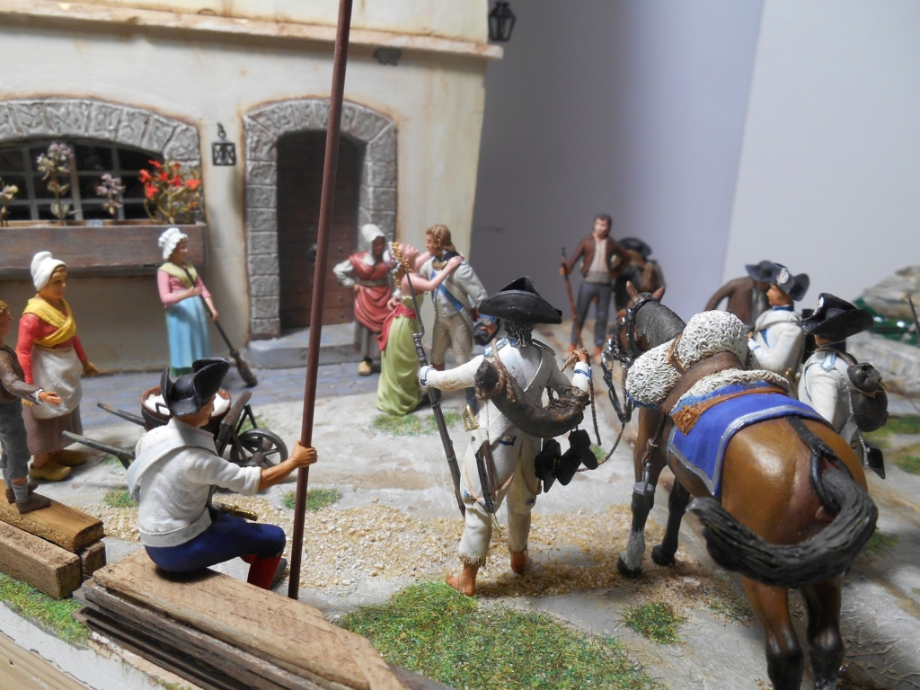 """""""Adieu, mon amour, reviens vite!""""-Figurines HISTOREX, NEMROD, CE CHER PASSE- 1/32e et 1/35e - Décor scratch intégral R-les_13"""