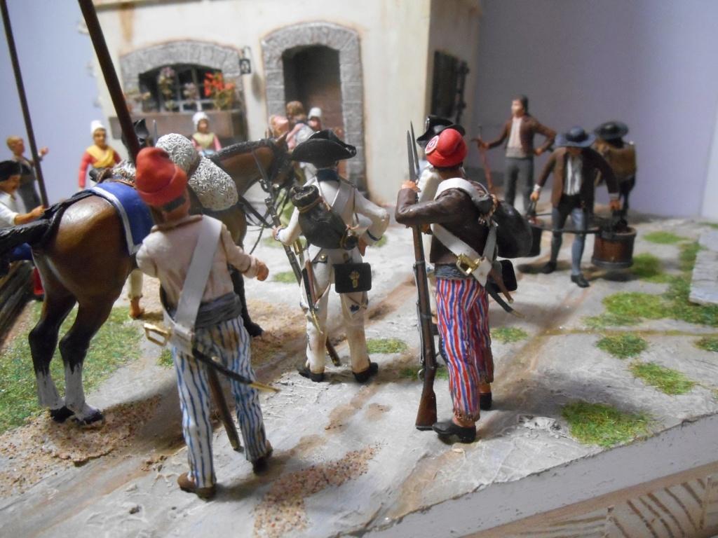 """""""Adieu, mon amour, reviens vite!""""-Figurines HISTOREX, NEMROD, CE CHER PASSE- 1/32e et 1/35e - Décor scratch intégral R-les_14"""